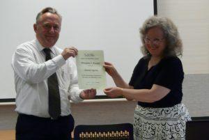 Amanda receives President's Award